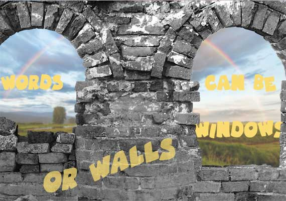 Words can be Windows - or Walls. Compassionate Communication,every Wednesday 6-8PM in Altona.